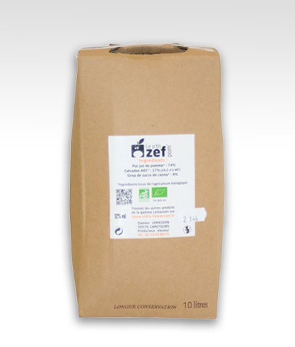 Bag in box 10L de p'tit ZEF pom