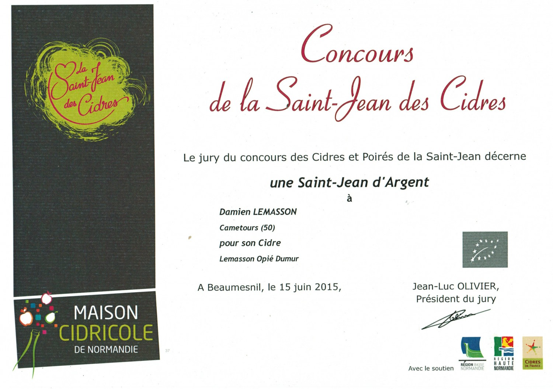 Concours St Jean des Cidres