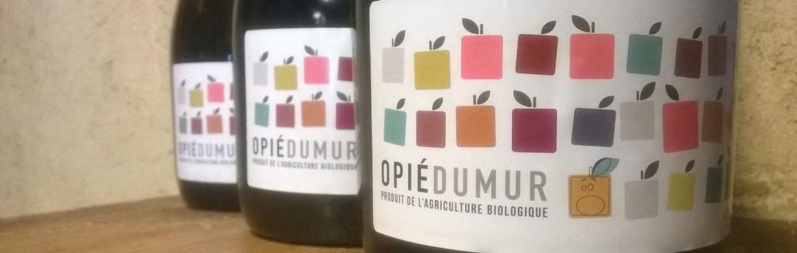 Cidre Opié Dumur 14 étiquette