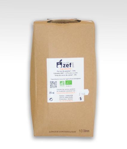 Bag in box 10L de p'tit ZEF pom