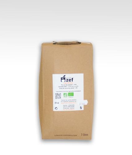 bag in box p'tit ZEF 3l